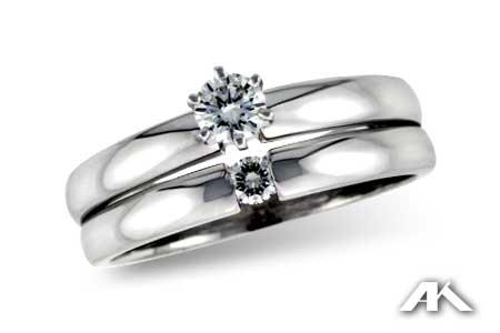 Six-Prong Solitare Diamond Ring