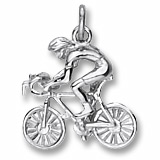 Cyclist Charm/Pendant