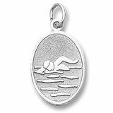 Swimmer Medallion