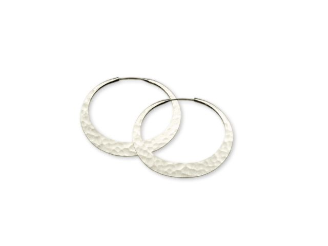 Eclipse Hoop Earrings 32mm