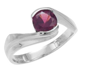 Grape Garnet Ring