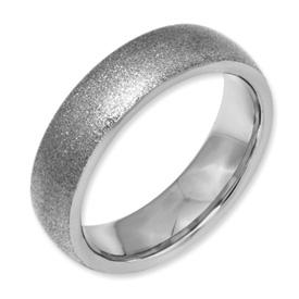 Textured Tungsten Ring