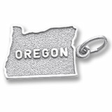 State of Oregon Charm/Pendant