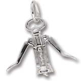 Corkscrew Charm/Pendant - Moves!