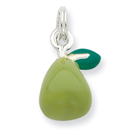 Green Pear Charm/Pendant
