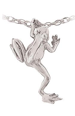 Frog Slider Pendant