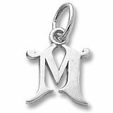 "Initial ""M"" Charm/Pendant"