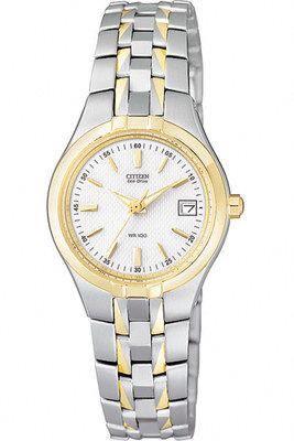 Sale! Two-tone Ladies 100m Watch