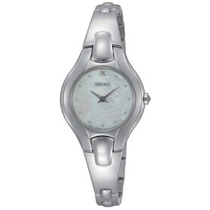 Diamond & Mother of Pearl Ladies Watch